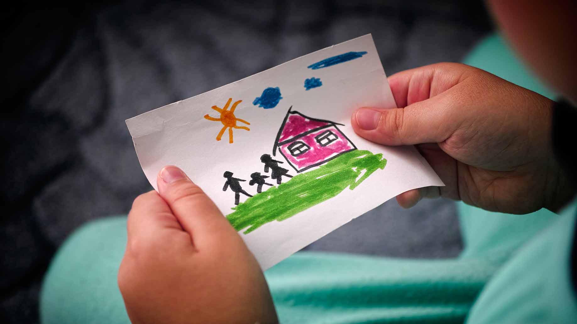 adopt child picture