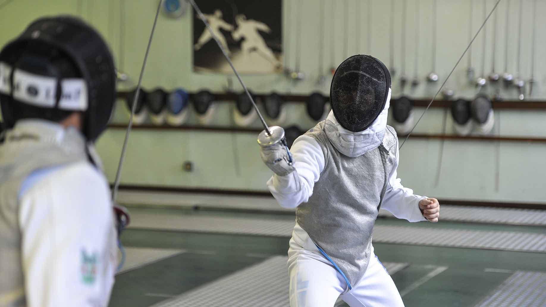fencing equipment lessons