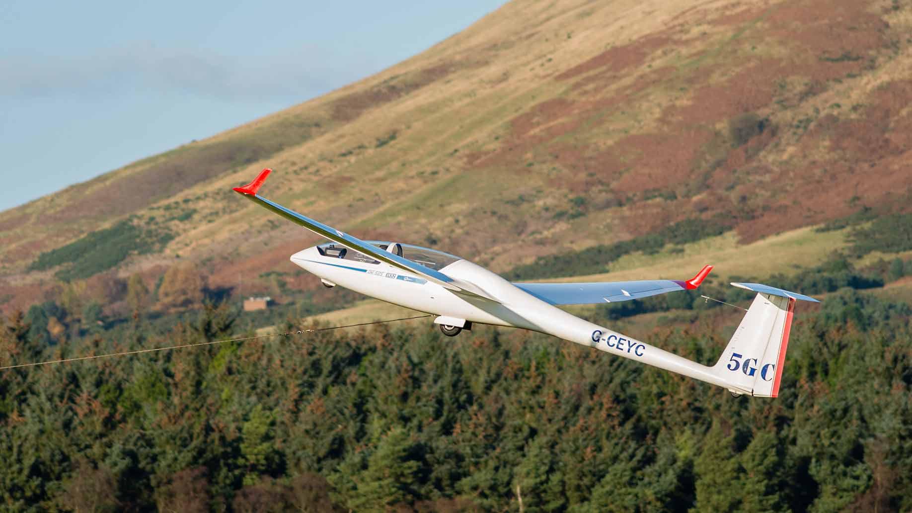 glider plane ride