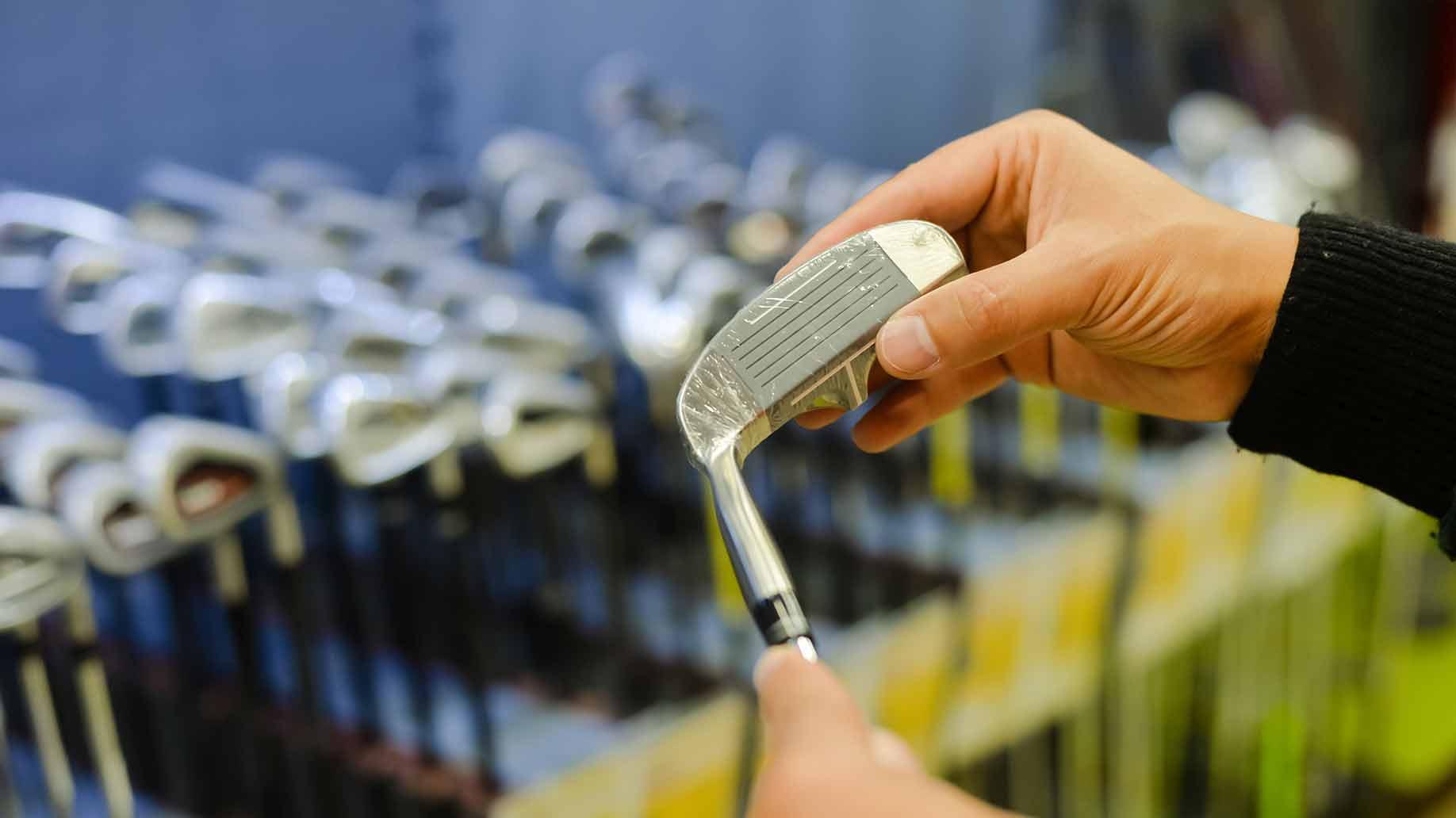 golf clubs store