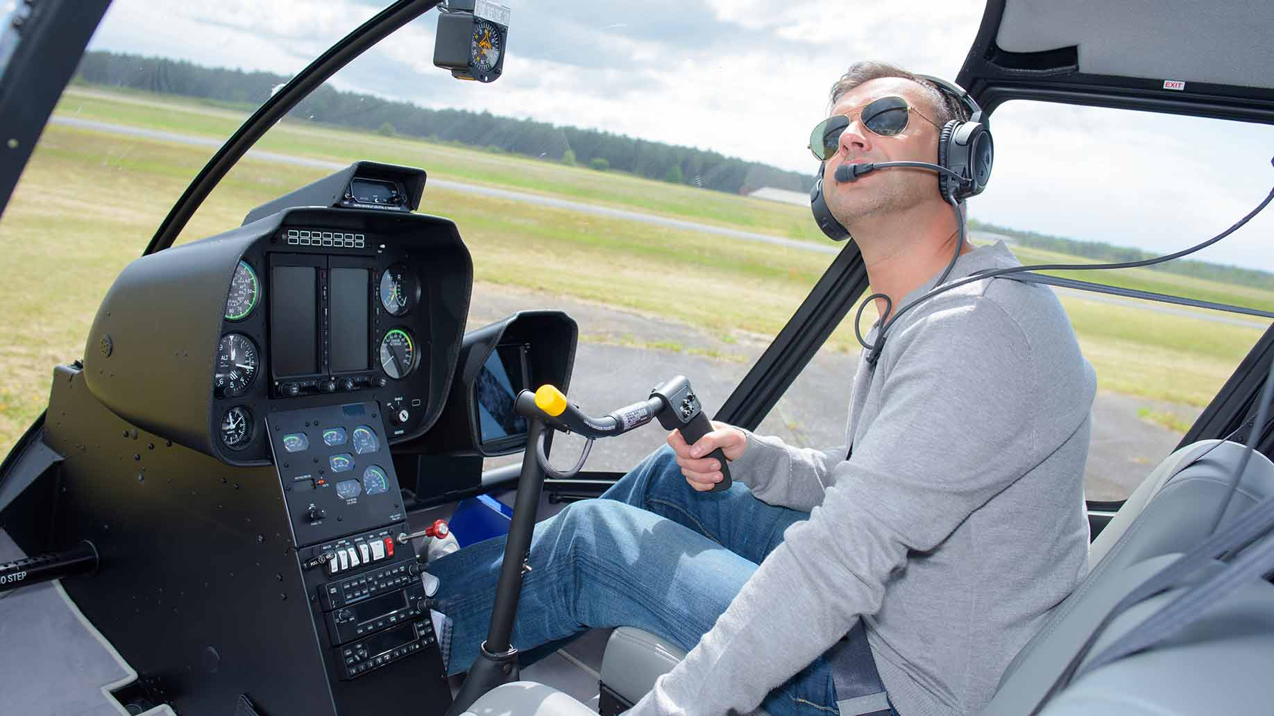 helicopter pilot license training