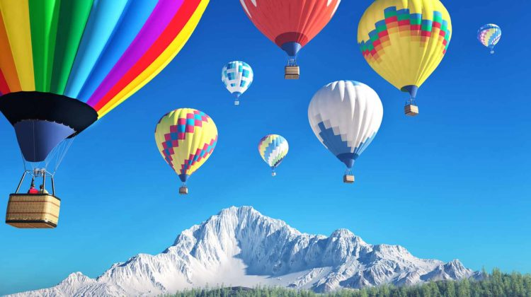 How Much Does a Hot Air Balloon Ride & Experience Cost – Prices