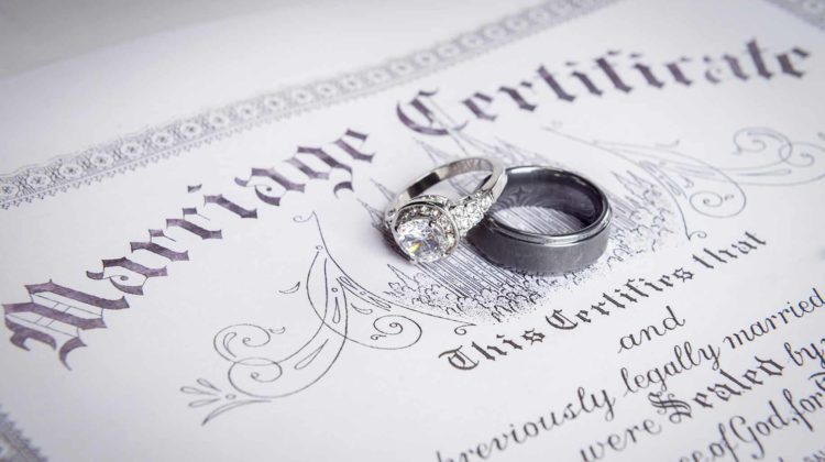 How Much Does a Marriage License Cost – Fees