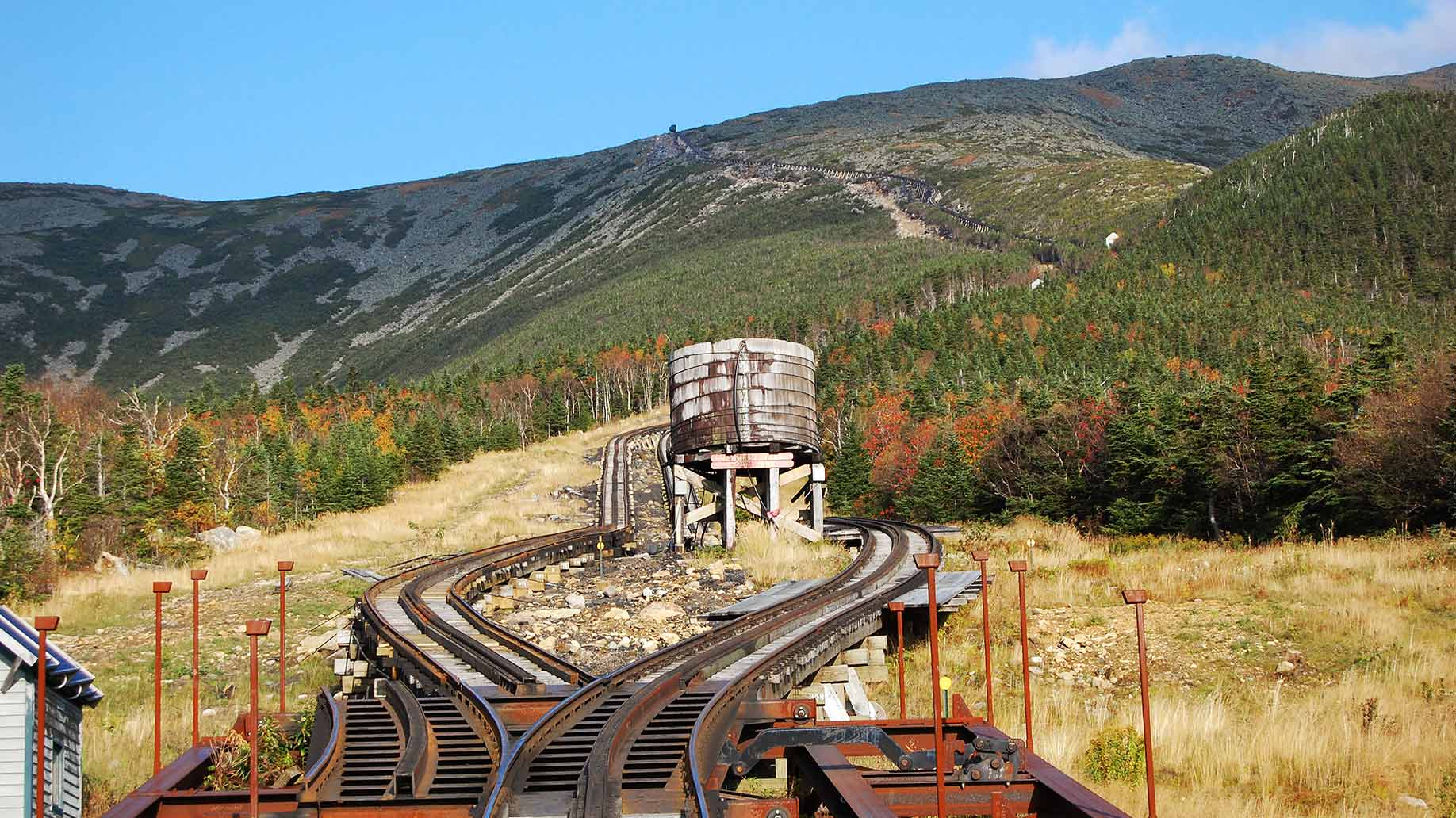 mount washington train tracks
