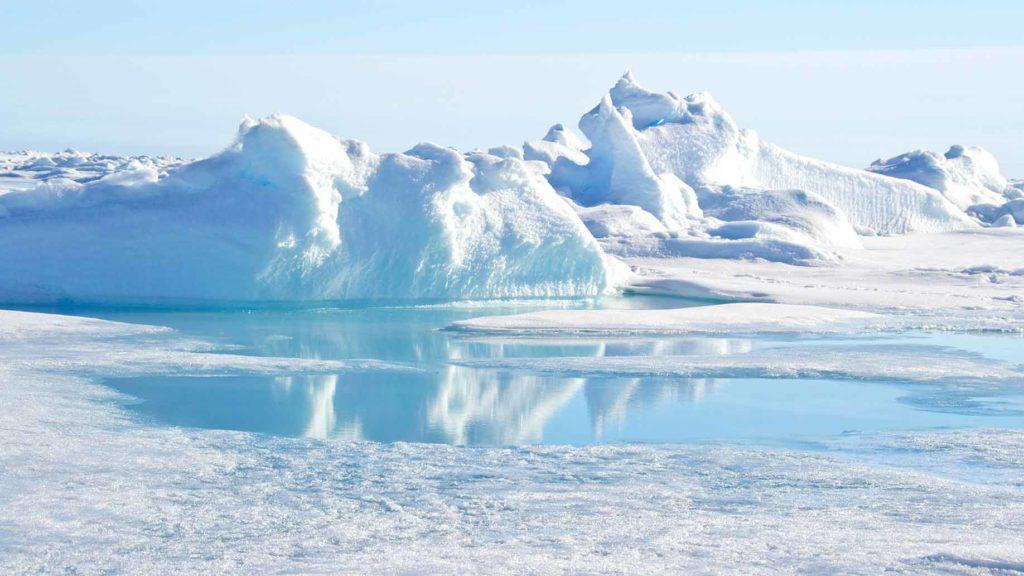 north pole ice