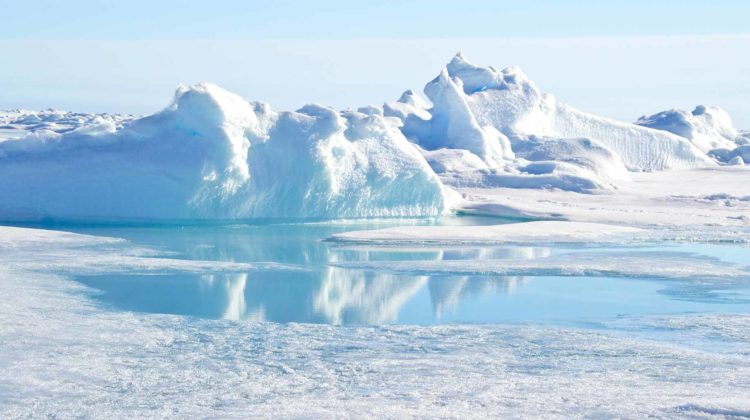 north pole ice
