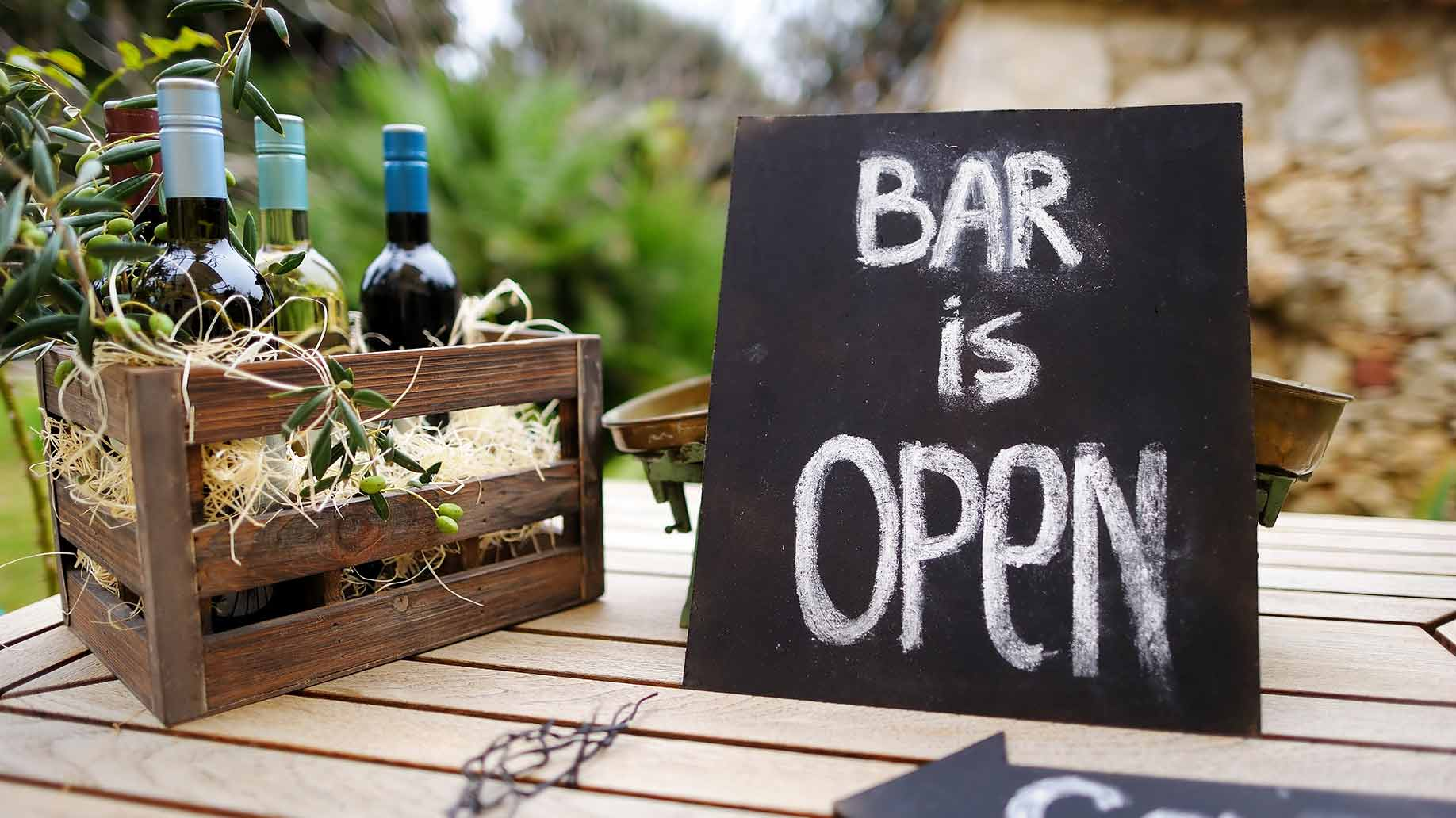 The bar is one of the places guests will visit first once you arrive in the reception. Make sure to have it without breaking the bank.