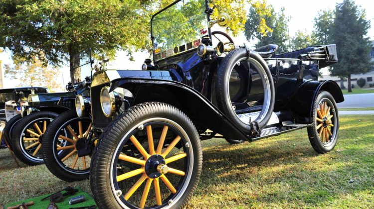 restored ford model t car