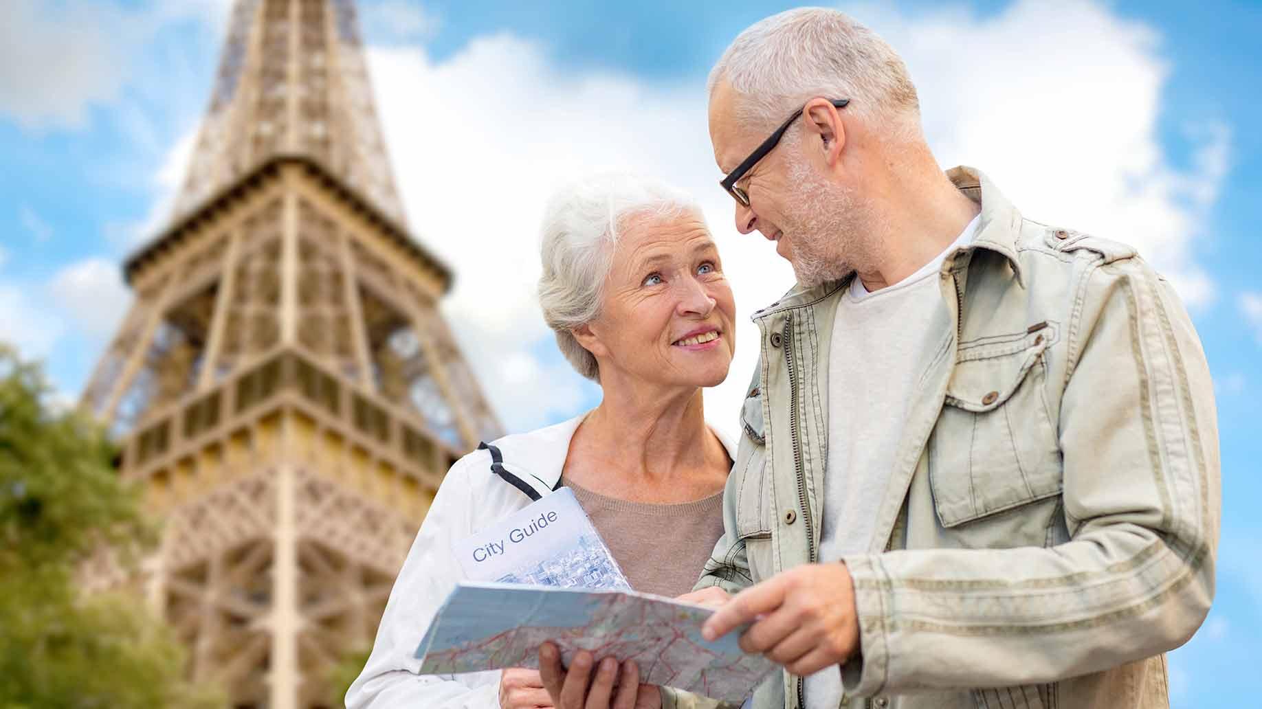 retiring living in france