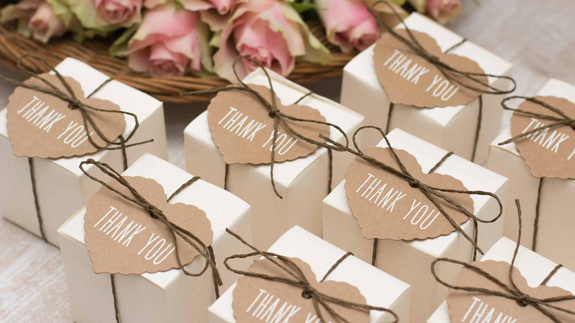 Wedding Favors Thank You