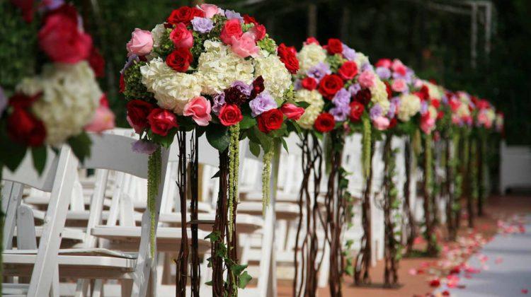 wedding flowers arrangement