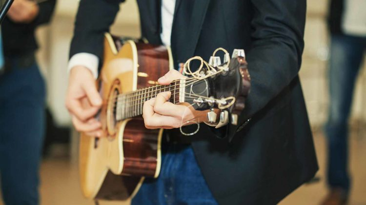wedding music band guitar